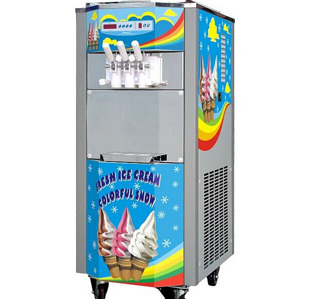 Soft Ice Cream Machine Customized front pane