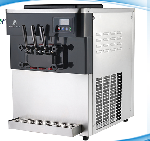 Wholesale Factory Price 2+1mixed Flavours Ice Cream Machine
