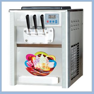 Small Tabletop Soft Icecream Machine