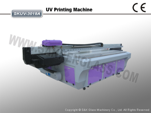 UV Glass Printing Machine