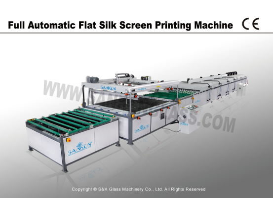 Silk Screen Glass Printing Machine Line