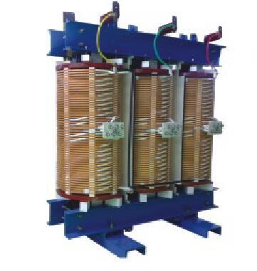 SG10 6~10kV three phase H grade insulation dry-Type Transformer