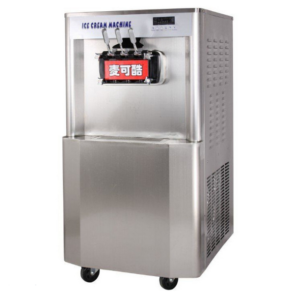 Newest Soft Water-Cooled Ice Cream Maker with Rainbow Function