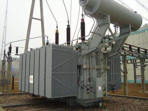 110kV Three Phase  Toroidal Oil-immersed Power Transformer