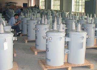 10kv GB/IEC Standard single phase 75kva pole mounted transformer