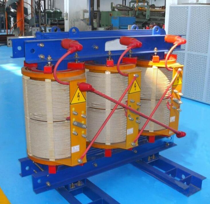 6.6-35kv dry type 3 phases distribution electrical transformer