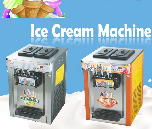 China Commercial Soft Cream Machine with Factory Price