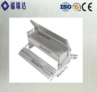 FRDA Chicken Trough Slaughtering Poultry Feeding Equipment