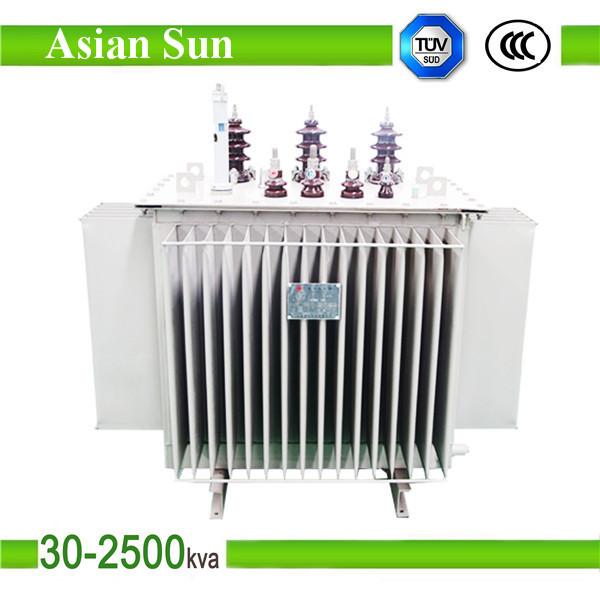 1600KVA 11KV Three Phase Oil Immersed Power Transformer
