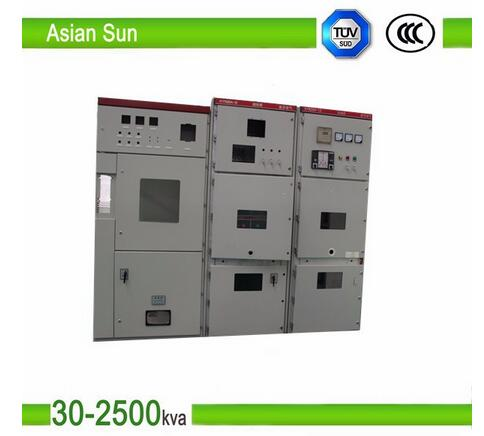 12KV 50Hz Armored Draw-out Type AC Metal Enclosed Switchgear
