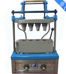 4 Head Ice Cream Sugar Cone Baking Machine