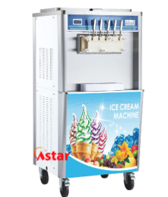 Automatic ice cream machine with factory price