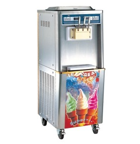 3 Flavors with CE Ice Cream Machine