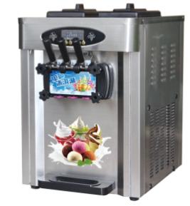 Three Flavor Commercial Ice Cream Maker