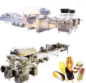 Full Automatic Ice Cream Machine