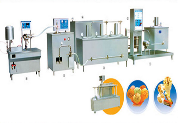 Full Automatic Commercial Ice Cream Machine