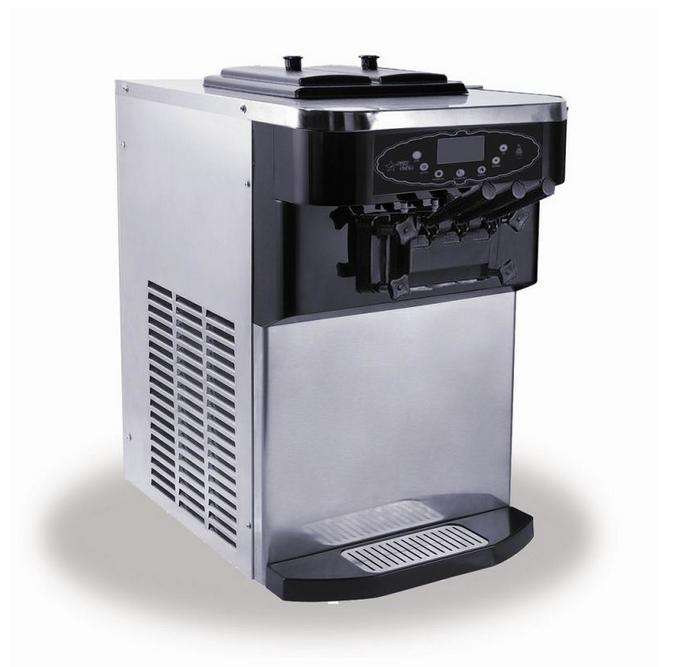 Air-Cooled Ice Cream Machine