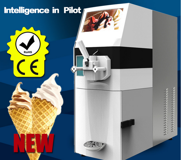 High Quality Commercial Intelligent Ice Cream Machine