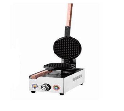 Waffle Maker with 1-Plate Ice Cream Cone Baker Machine