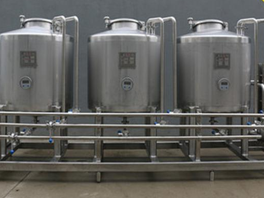 Automatic CIP Cleaning System for Dairy Beverage