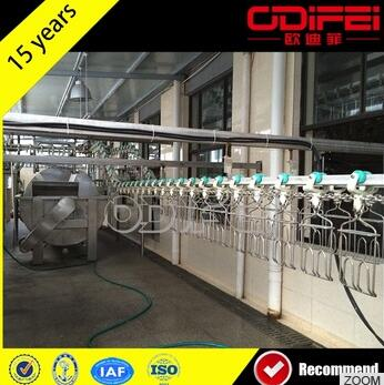 Poultry Chicken Slaughtering Equipment Broiler Chicken Slaughter Machine