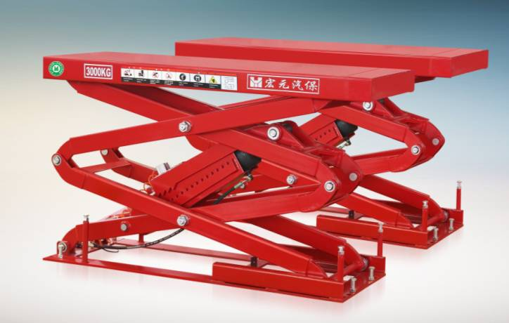 IN-GROUND SCISSOR LIFT HY-JSD-D-8540
