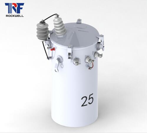 Complete Self Protected Single Phase Csp Pole Mounted Transformer