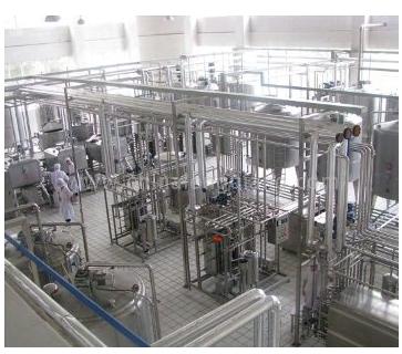 Dairy Plant for Pasteurized Milk Uht Milk Yogurt Condensed Milk Ice Cream Ghee Lassi Buttermilk