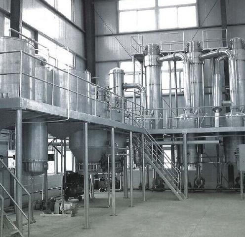Tanks in Unit for Milk/Beverage (juice) Processing