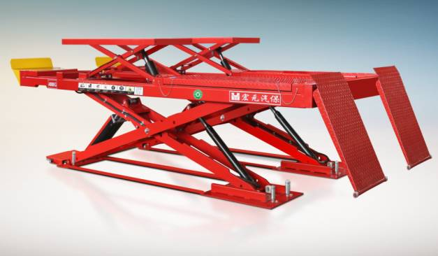 Ultra-thin scissor lift