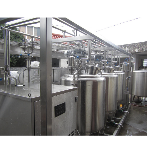 Small Scale 300L/H Ice Cream Production Line