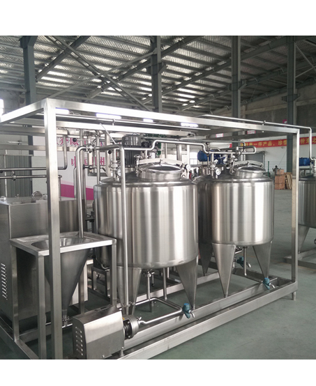 Full Automatic Small Scale Small Scale 200L/H Combined Ice Cream Processing Line