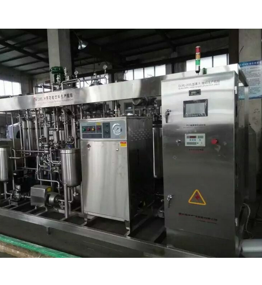 Small Scale 3000L/D Flavored Milk Processing Line