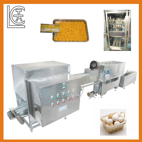 Automatic Egg Sheller and Separator