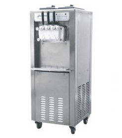 Free Standing Commercial Ice Cream Machine for Hotel Buffet and Restaurant