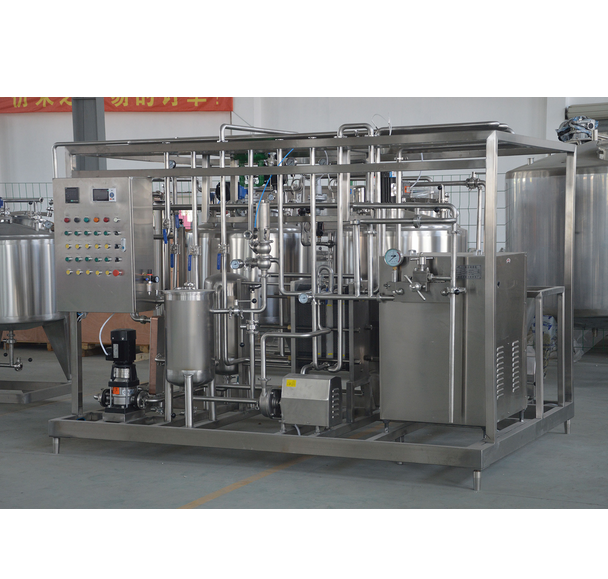 Small Scale 500L/H Multi Functional Ice Cream Processing Plant