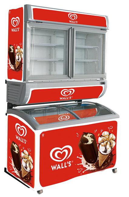 Freezer showcase SD260