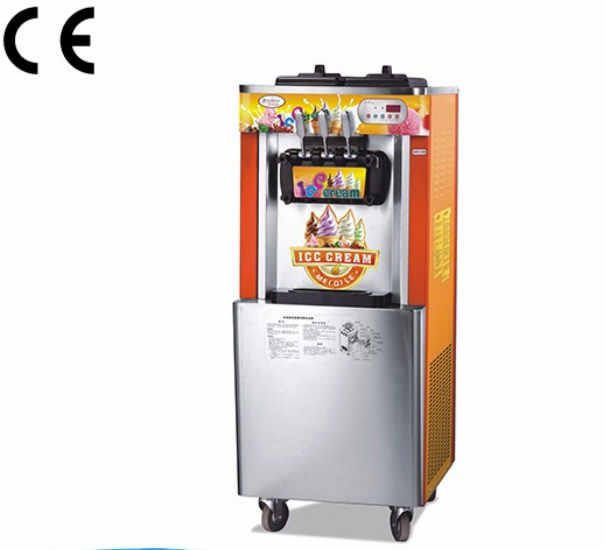 Professional supply Top Quality low noise make soft ice cream machine