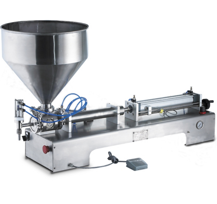 Semi-Automatic Stainless Steel Ice Cream Filling Machine