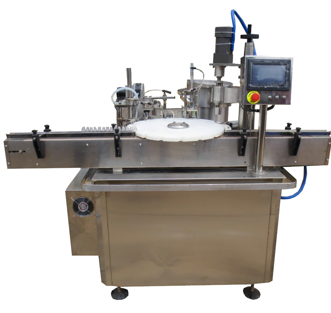 Automatic Eye Drop E-Liquid / Essential Oil Bottle Filling Machine for Factory