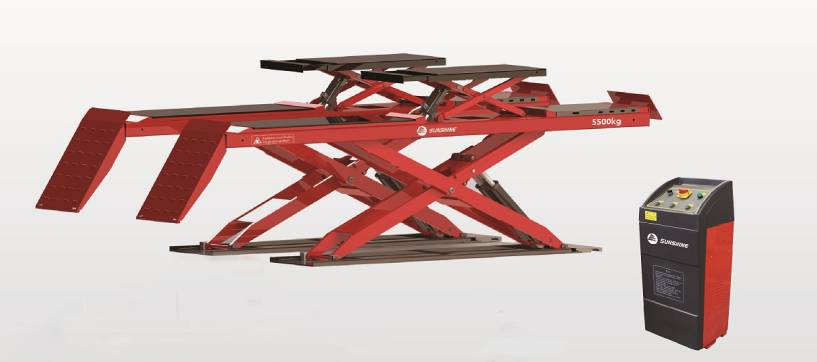 Ultra-thin Alignment Scissor Lift