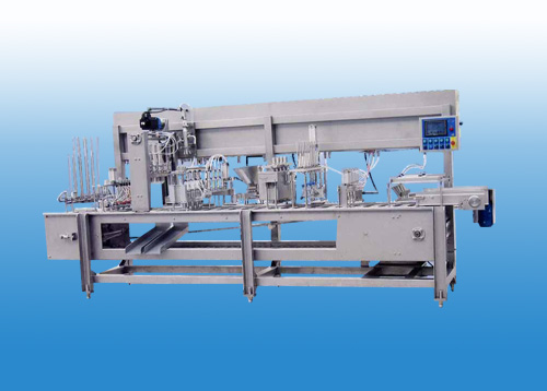 Multipurpose PLC Ice-cream Filling Machine