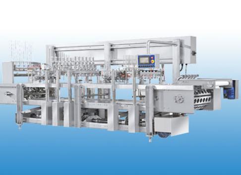 Intermittent-type  PLC Ice cream Filling Machine