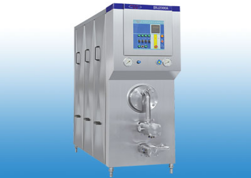 Ice Cream Freezer with External Cold Source