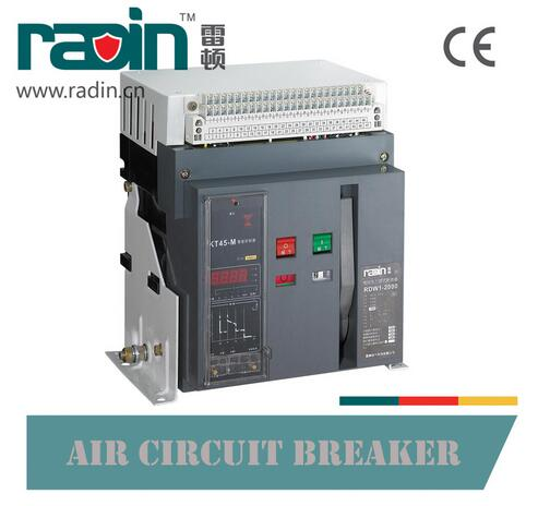 Rdw1 Fixed Type Low Voltage Air Circuit Breaker 2000A - 6300A