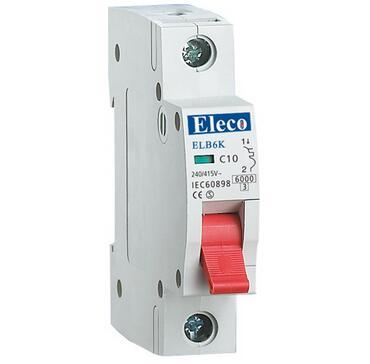 ELB6K Series Hot Sale Overcurrent Protection Mini Circuit Breaker