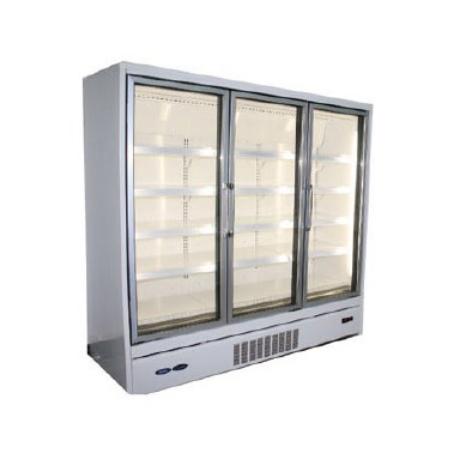Vertical Glass Door Freezer and Chiller