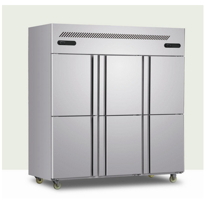 Dual Temperature Refrigerator for Restaurant and Hotel