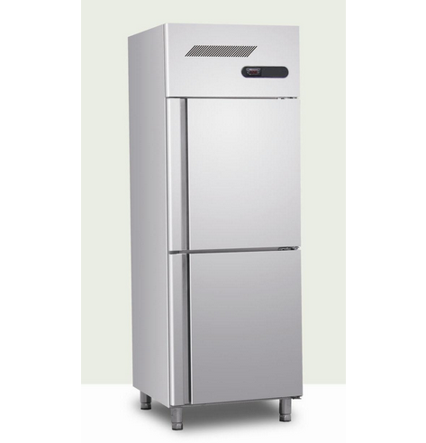 Vertical Stainless Steel Refrigerator with Two Door