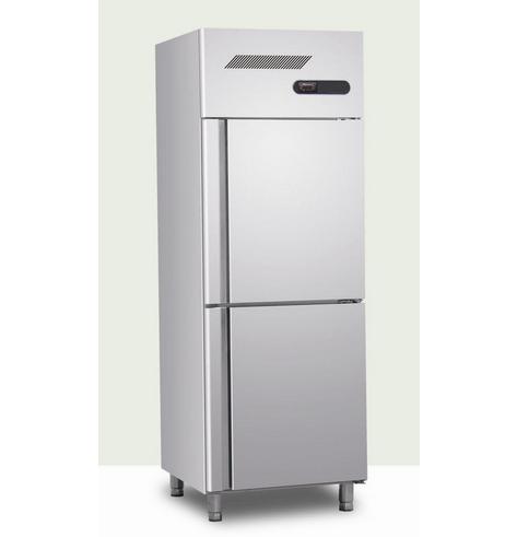 Vertical Stainless Steel Refrigerator with Two Door